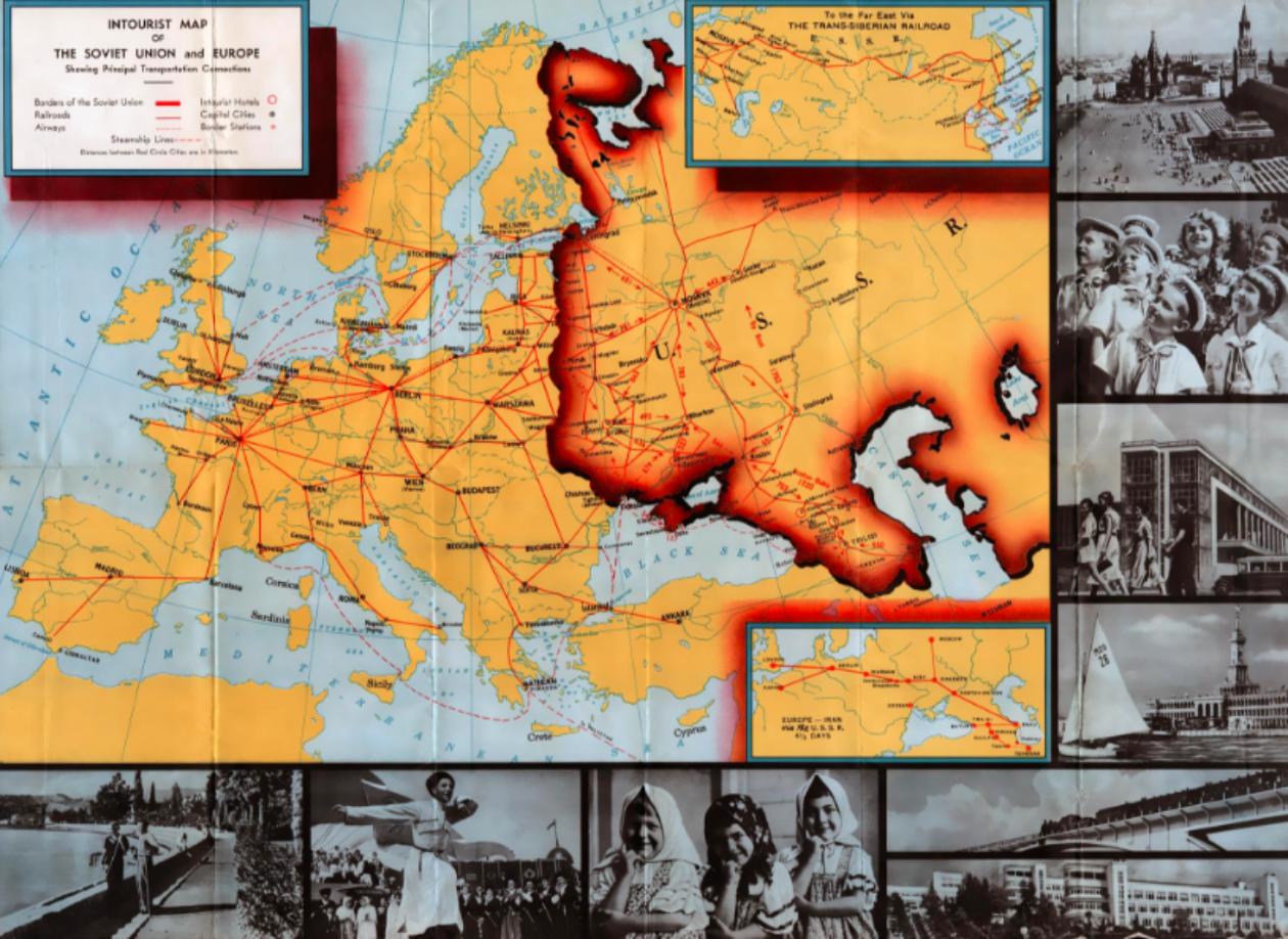 Circulations et transferts avec l'URSS