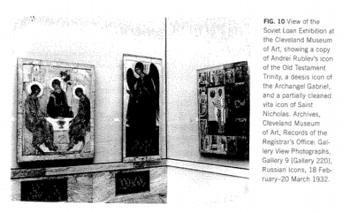 In Wendy Salmond How America Discovered Russian Icons The Soviet Loan Exhibition Of 1930 32 Op Cit